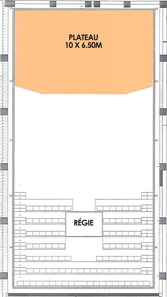 plan salle rocksane